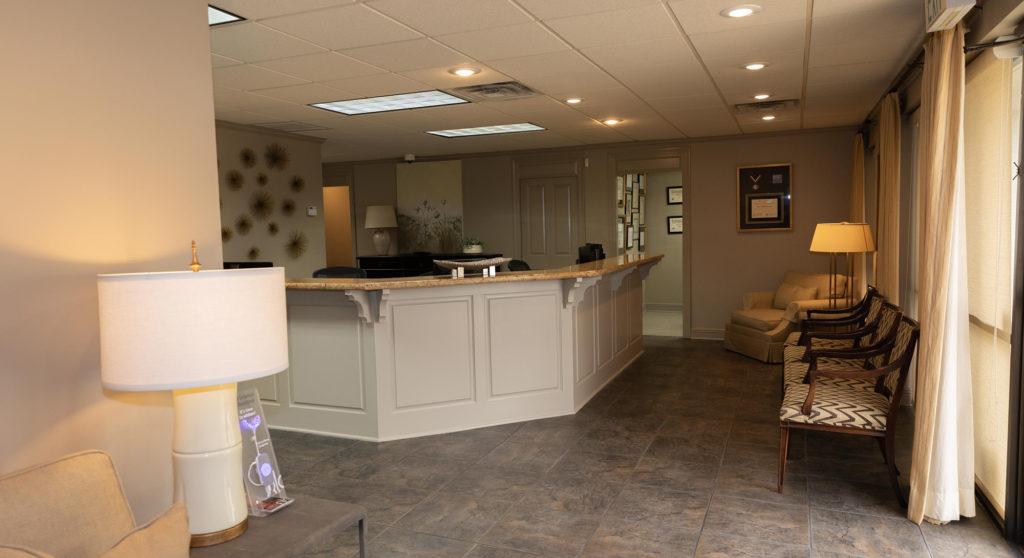Front Desk In Office